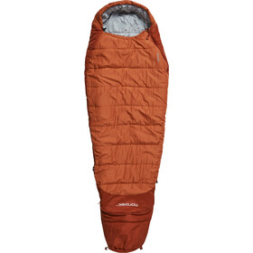 Nordisk Knuth Sacos de dormir 160-190cm Jóvenes, burnt red
